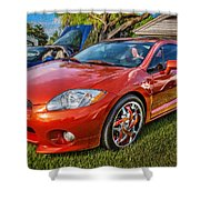2006 Mitsubishi Eclipse Gt V6 Painted Shower Curtain