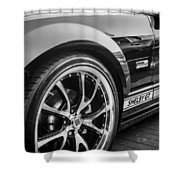 2007 Ford Mustang Shelby Gt Painted Bw   Shower Curtain