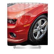 2012 Chevy Camaro Ss  Shower Curtain