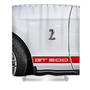 2012 Ford Shelby Mustang Gt500 Painted  Shower Curtain