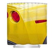 2013 Chevy Corvette Zr1 Shower Curtain