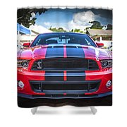 2013 Ford Shelby Mustang Gt500 Shower Curtain
