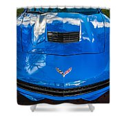 2014 Chevrolet Corvette C7   Shower Curtain