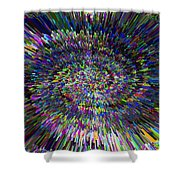 3 D Dimensional Art Abstract Shower Curtain