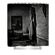 A Cell In Santa Barbara Mission Shower Curtain