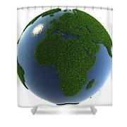 A Greener Earth Shower Curtain