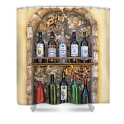 A Toast To Olympia Shower Curtain