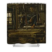 A Weaver's Cottage Shower Curtain