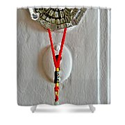 A Wish For Luck  Shower Curtain