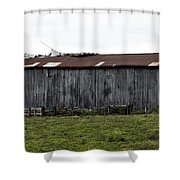 Abandoned Barn Kentucky Usa Shower Curtain