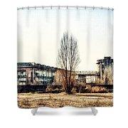 Abandoned Sugarmill Shower Curtain
