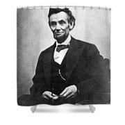 Abraham Lincoln(1809-1865) Shower Curtain