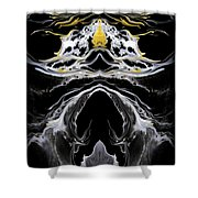 Abstract 138 Shower Curtain