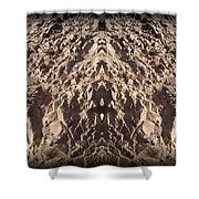 Abstract 25 Shower Curtain
