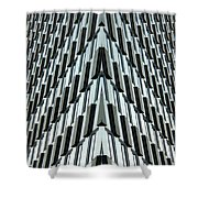 Abstract Buildings 4 Shower Curtain