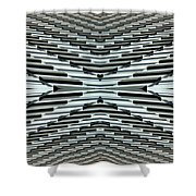 Abstract Buildings 5 Shower Curtain