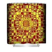 Abstract Series 10 Shower Curtain