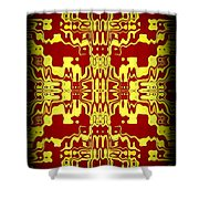 Abstract Series 3 Shower Curtain
