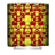 Abstract Series 4 Shower Curtain