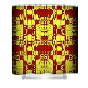 Abstract Series 6 Shower Curtain