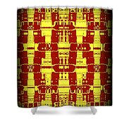 Abstract Series 7 Shower Curtain