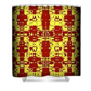 Abstract Series 8 Shower Curtain