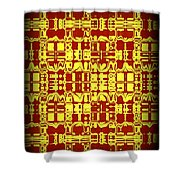 Abstract Series 9 Shower Curtain