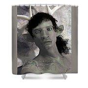 Actaeon Greek  Shower Curtain