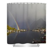 After The Rain In Reine Shower Curtain