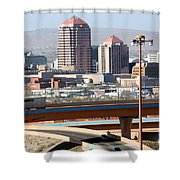 Albuquerque Skyline Shower Curtain