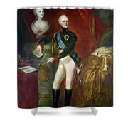 Alexander I (1777-1825) Shower Curtain