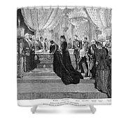 Alexander IIi (1845-1894) Shower Curtain