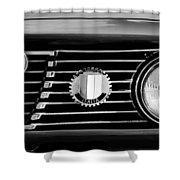 Alfa-romeo Grille Emblem Shower Curtain