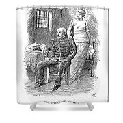 Alfred Dreyfus (1859-1935) Shower Curtain