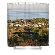 Alonissos Island Shower Curtain