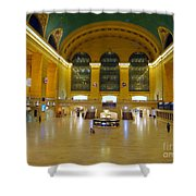 2 A.m.grand Central Station  Shower Curtain