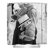 Amish Auction Day Shower Curtain