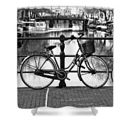 Amsterdam Scene Shower Curtain
