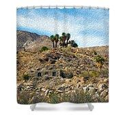 Andreas Canyon Dreams Shower Curtain