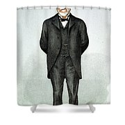 Andrew Carnegie (1835-1919) Shower Curtain