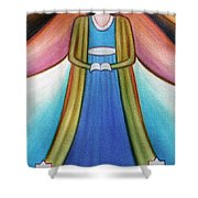 Angel Of Destiny Shower Curtain