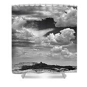 Angel Peak Shower Curtain