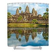 Angkor Wat - Cambodia Shower Curtain