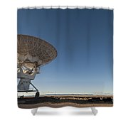 Antenna At Very Large Array Shower Curtain
