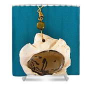 Aphrodite Earring Shower Curtain