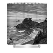 Approaching Storm Shower Curtain by Andrew Soundarajan