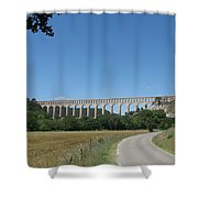 Aqueduct Roquefavour Shower Curtain
