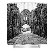 Arbroath Abbey Shower Curtain