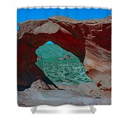 Arch Rock - Valley Of Fire State Park Shower Curtain