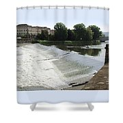 Arno River 2 Shower Curtain